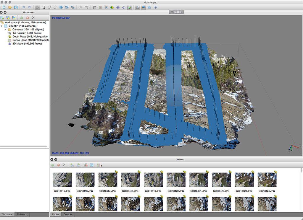 logiciel photoscan formation pilote drone