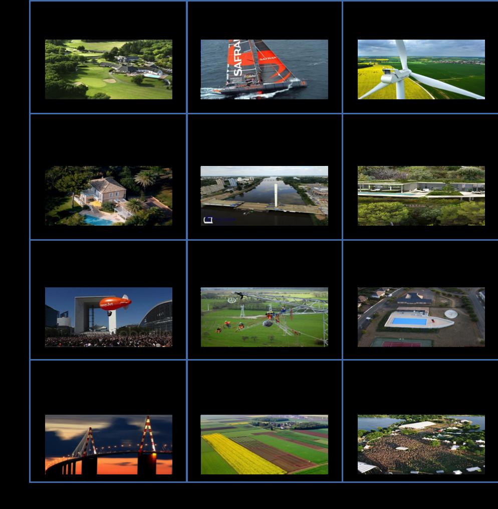 photos prises par un drone