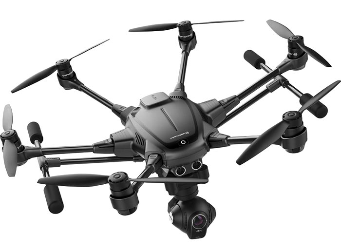 Yuneec-typhoon-h drone