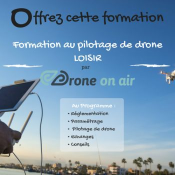 formation drone loisir - initiation pilotage drone