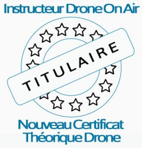 instructeur nouveau certificat théorique drone